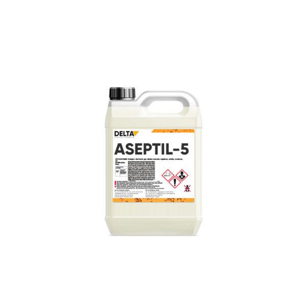 ASEPTIL-5 DESINFECTANTE DE USO GENERAL APTO INDUSTRIA ALIMENTARIA 1 Opiniones Delta Chemical